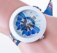 cheap -Women's Fashion Watch Casual Watch Quartz / Casual Watch Fabric Band Casual Black White Blue Green Pink Yellow