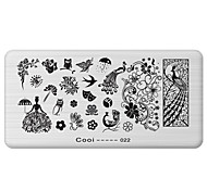 cheap -Nail Art Stamp Stamping Image Template Plate Cool Series