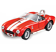 Недорогие -Игрушечные машинки Модель авто Обучающая игрушка Игрушки Ретро Оригинальные моделирование Музыка и свет Автомобиль Металлический сплав
