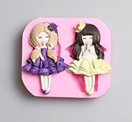 Недорогие -выпечке Mold Животный принт Для торта / Other / конфеты / Для шоколада силиконовыйАнтипригарное покрытие / Экологичность / День рождения