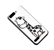 girafa dos desenhos animados padrão de padrão de design de volta cobrir caso difícil de proteção para Huawei Ascend g6