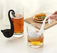 cheap -Novelty Swan Shape Tea Strainer Filter Herbal Spice  Filter Diffuser