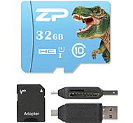 ZP 32 Гб Карточка TF Micro SD карты карта памяти UHS-I U1 Class10