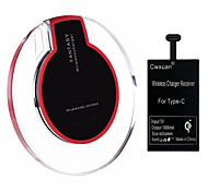 Cwxuan® Type-C Qi Wireless Charger Receiver  Wireless Charging Kit for Type-C Mobile Phone