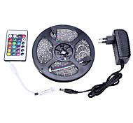 Light set RGB 5M 3528 300 light IP65 24 key remote control 12V 3A power supply