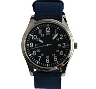cheap -Men's Fashion Watch Quartz / Fabric Band Casual Navy Brand