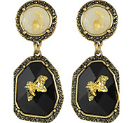 Drop Earrings Alloy Fashion Black Jewelry Wedding 1 pair