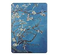 Недорогие -Кейс для Назначение Apple iPad 4/3/2 Бумажник для карт Оригами Чехол Цветы Твердый Кожа PU для iPad 4/3/2 Apple
