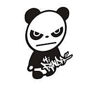 Недорогие -смешно привет панда автомобиля наклейку окна автомобиля наклейки на стены автомобиль стиль