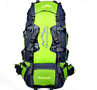 80 L Hiking & Backpacking Pack Cycling Backpack Backpack Climbing Leisure Sports Cycling/Bike Camping & HikingWaterproof Breathable