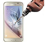Недорогие -Защитная плёнка для экрана Samsung Galaxy для S6 Закаленное стекло Защитная пленка для экрана Против отпечатков пальцев