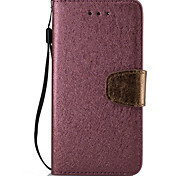 For Sony Xperia XA X XP PU Leather Material Silk Color Phone Case
