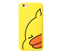 3D Yellow duck Silicone Case for iPhone 7 7 Plus 6s 6 Plus iPhone Cases