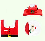 Рождественская оригинальность трех частей устройство туалета Санта-Клауса