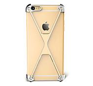 For Shockproof Case Bumper Case Solid Color Hard Aluminium for Apple iPhone 7 Plus iPhone 7 iPhone 6s Plus/6 Plus iPhone 6s/6