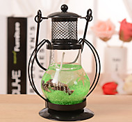 cheap -Aladdin's Light Candlestick Retro Lantern Metal Crafts Home Restaurant Romantic Candlelight Dinner Lamps Candle Holder Decor Ramdon Color