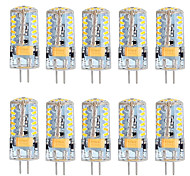 G4 LED Bi-pin Lights T 57 SMD 3014 300 lm Warm White Cold White K Dimmable AC 12 V