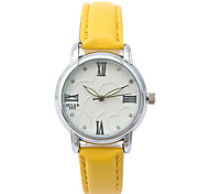 cheap -Women's Fashion Watch / Casual Watch / Leather Band Casual White