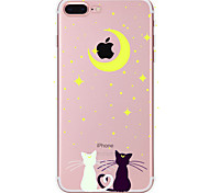 Case For Apple iPhone X iPhone 8 Plus iPhone 7 iPhone 6 iPhone 5 Case Pattern Back Cover Cat Soft TPU for iPhone X iPhone 8 Plus iPhone 8