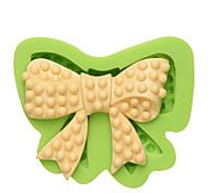 Beleza arco silicone mofo alimentos artesanais seguro colar de goma resina fudge manteiga nougat queijo moldes cor aleatória