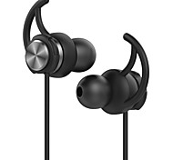 GEVO HIFI Sport Earphones Stereo Bass Noise Cancelling Ergonomic In-Ear Earphone with Mic and Earhook for SmartPhones(Black)