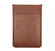 Недорогие -j.m.show ноутбук сумка мешок компьютера вертикальный конверт кожа PU зерна для 11 13 15 дюймов универсального