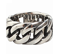 cheap -Men's Ring - Fashion Silver Ring For Party Daily Casual