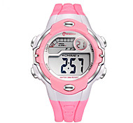 Kids' Sport Watch Fashion Watch Digital Watch Quartz Digital Plastic Band Black White Red Pink Purple Yellow