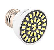E26/E27 Spot LED T 32 diodes électroluminescentes SMD 5733 Décorative Blanc Chaud Blanc Froid 500-700lm 2800-3200/6000-6500K AC 100-240
