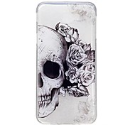 For Samsung Galaxy J5 Prime J7 Prime J3 Pro Case Cover Skull Pattern High Permeability TPU Material IMD Craft Phone Case