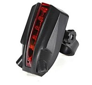 Rear Bike Light LED Cycling AAA USB Lumens Battery Cycling/Bike-Lights 5 LED 2 Laser Beams Intelligent Bike Logo Safety Rear Tail Light