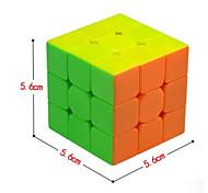 Недорогие -Кубик рубик QI YI 3*3*3 Спидкуб Кубики-головоломки головоломка Куб Рождество Новый год День детей Подарок Классический и неустаревающий
