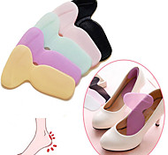 cheap -1 Pair Soft Silicone Multicolor Insole Pads High Heel Gel Foot Care Protector Anti Slip As Shoe Style Randomly