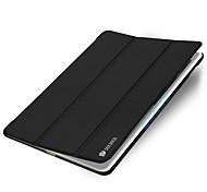 Для С функцией автовывода из режима сна Оригами Кейс для Чехол Кейс для Один цвет Твердый Искусственная кожа для Apple iPad Air 2