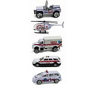 Playsets автомобиля Модели автомобилей Игрушечные машинки Машина скорой помощи Игрушки Автомобиль Металлический сплав Металл Классический