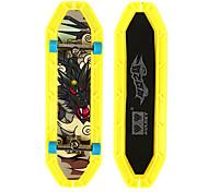 preiswerte -Mini Skateboards, Motorrad und Fahrrad Freizeit Hobbys Schlittschuh ABS Plastik Gelb Für Jungen Für Mädchen