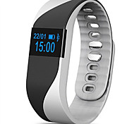 Smart Bracelet Heart Rate Monitor Call Reminder Pedometer Sleep Remote Camera OLED Display Wristbands for iPhone IOS Android