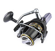 cheap -800Size 14 Ball Bearings Sea Fishing Spinning Reels Big Surf Reel Exchangable