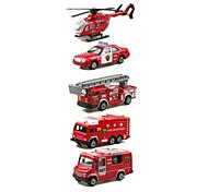 Недорогие -Playsets автомобиля Пожарная машина Игрушки Автомобиль Вертолет Металл Классический и неустаревающий Изысканный и современный 1 Куски