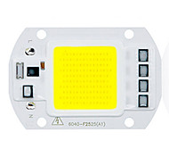 abordables -1pc COB 220-240V Luminoso Chip LED Aluminio para DIY Proyector de luz de inundación LED 50W