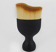 1pcs Contour Brush Blush Brush Foundation Brush Synthetic Hair Professional Travel Eco-friendly Portable Plastic Face Others