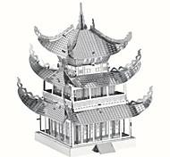 Kit de Bricolage Puzzles 3D Puzzle Puzzles en Métal Jouets Bâtiment Célèbre Architecture Chinoise Architecture 3D A Faire Soi-Même