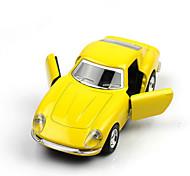 Недорогие -Игрушки Классическая машинка Гоночная машинка Автомобиль Металл Мальчики Девочки Рождество День рождения День детей Подарок Актеры и