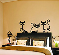 cheap -Animals Fashion Leisure Wall Stickers Plane Wall Stickers Decorative Wall Stickers, Paper Home Decoration Wall Decal Wall