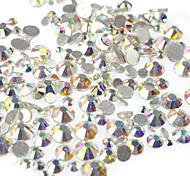 preiswerte -400-500pcs/bag Werkzeuge und Zubehör / Nagelschmuck Strass / Modisch / Glitter & Funkeln Kristall / Rhinestone-Art / Strass / Kristalle
