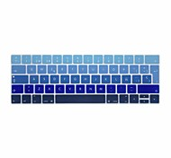 cheap -XSKN® European Spanish Gradient Silicone Keyboard Skin and Touchbar Protector for 2016 Newest MacBook Pro 13.3/15.4 with Touch Bar Retina