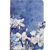 For Apple iPad Mini 4 3 2 1 Case Cover with Stand Pattern Full Body Flower Hard PU Leather