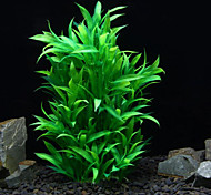 Оформление аквариума Водное растение Нетоксично и без вкуса Пластик