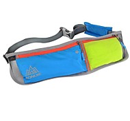 L Waist Bag/Waistpack Belt Pouch/Belt Bag for Leisure Sports Cycling/Bike Camping & Hiking Fitness Traveling Running Jogging Sports Bag