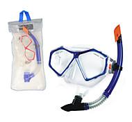abordables -Paquets de plongée Sets de Masque et tuba Aucun outil requis Natation Plongée PVC